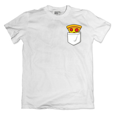 Pizza White Tshirt