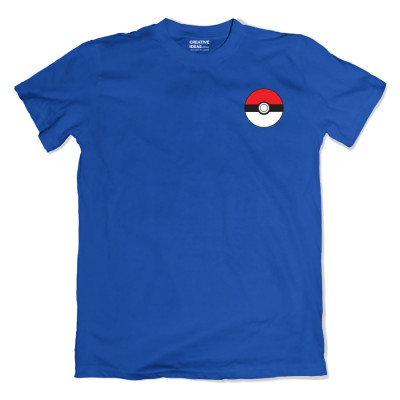 Pokeball Pocket Blue Tshirt