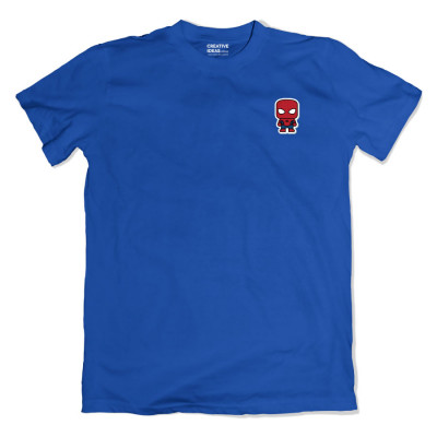 Spiderman Pocket Blue Tshirt