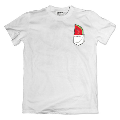 Watermelon White Tshirt