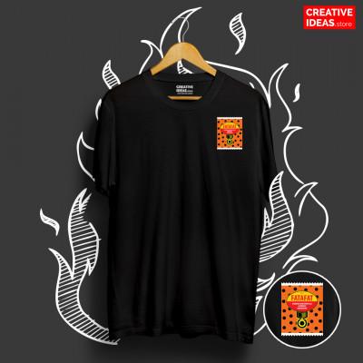 Fatafat Black 90s Tshirt