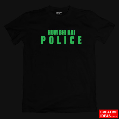 Hum Bhi Hai POLICE Glow in the Dark Tshirt