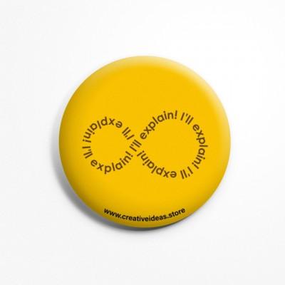 I'll Explain Button Badge