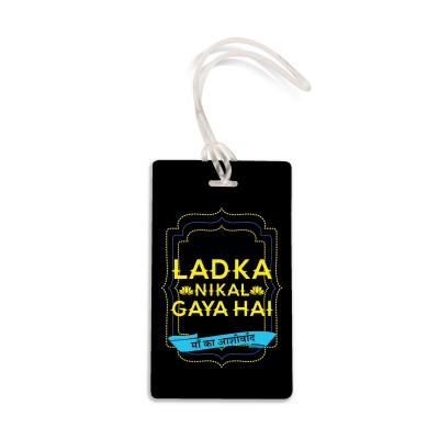 Ladka Nikal Gaya Hai Travel Tag by Viraj Ghelani
