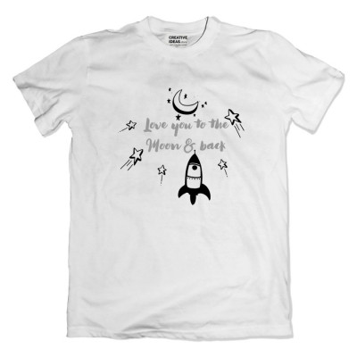 Love You To The Moon and Back Tshirt