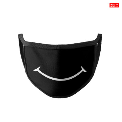 Smile Cotton Reusable Super Mask (pack of 3)