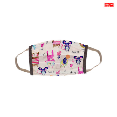 Reusable Super Mask with Doodle Print (pack of 3)