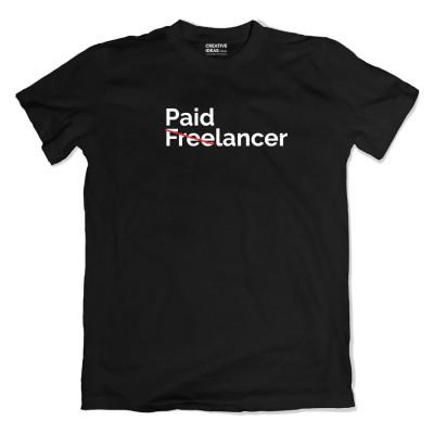 Paid-lancer Black Tshirt