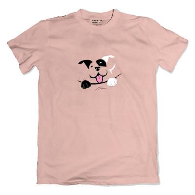 Pee-Ka-Whoof Pink Tshirt