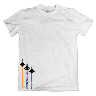 India Independence Day Tshirt White