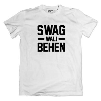 Swagwala Bhai Swagwali Behen Tshirt