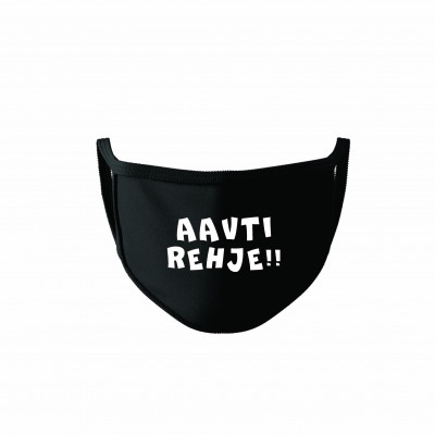 Aavti Rehje Cotton Reusable Super Mask by The Comedy Factory (pack of 2)