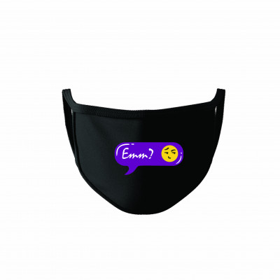 Emm Cotton Reusable Super Mask by The Comedy Factory (pack of 2)