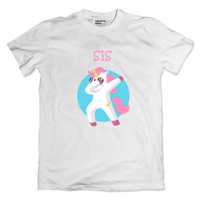 Dab Unicorn Bro Sis Tshirt