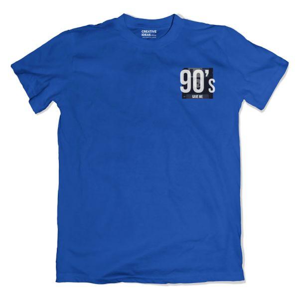 90s Save Me Blue Tshirt