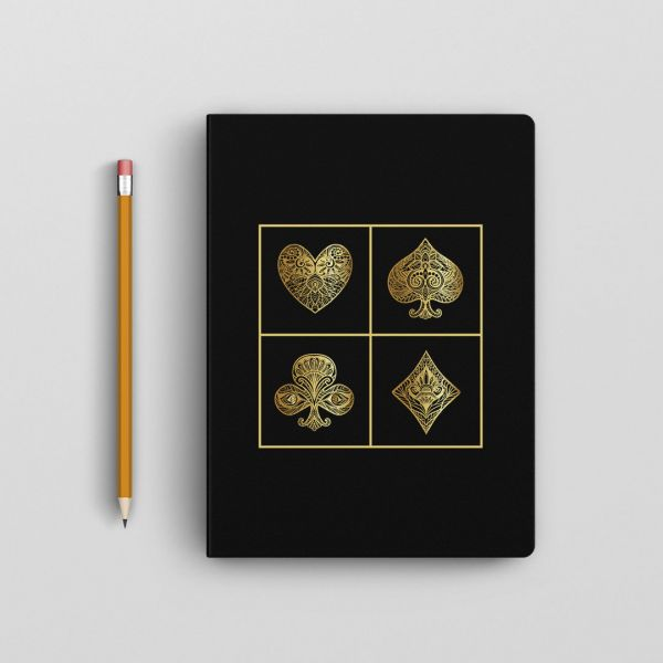 Ace Playing Card Notebook by - Creative Ideas