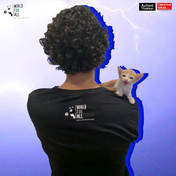 Riya Meri Girlfiriend Black Tshirt by Achint