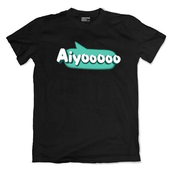 Aiyoooo Black Tshirt
