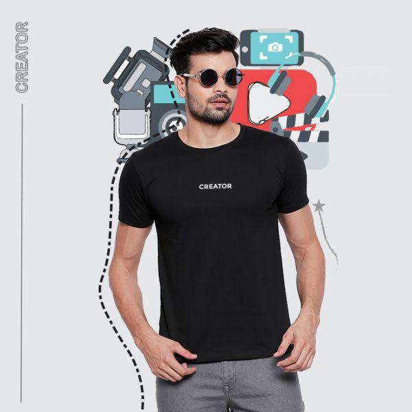 Be Creator Black Tshirt
