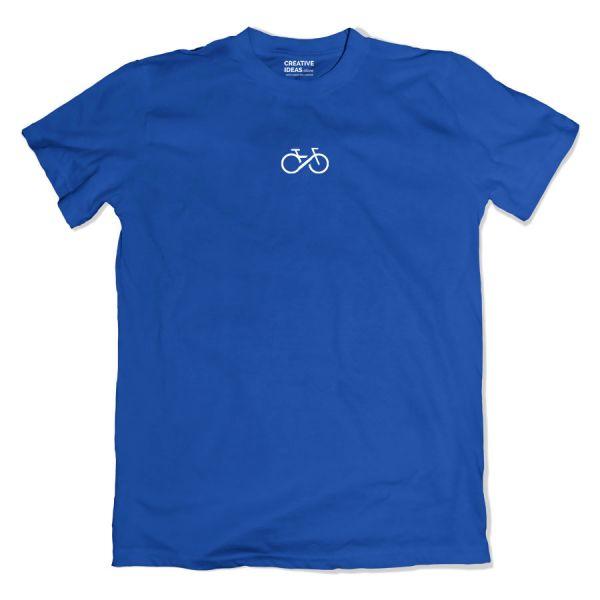 Cycling Forever Blue Tshirt