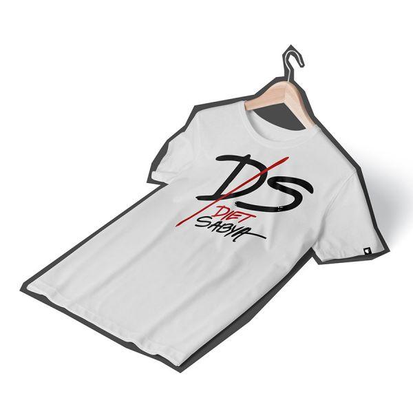 Diet Sabya Slash White Tshirt