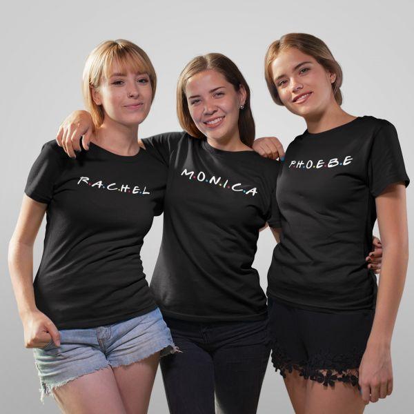 Rachel Monica Phoebe FRIENDS Tshirt