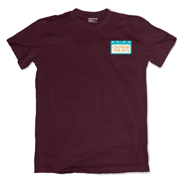 I'm From The 90's Old Wine Tshirt