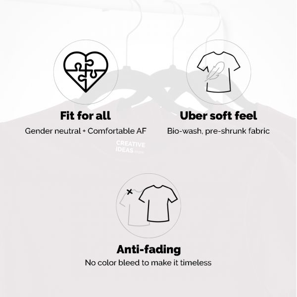 Dont Have To Be Perfect White Tshirt - Official Little Things Merchandise