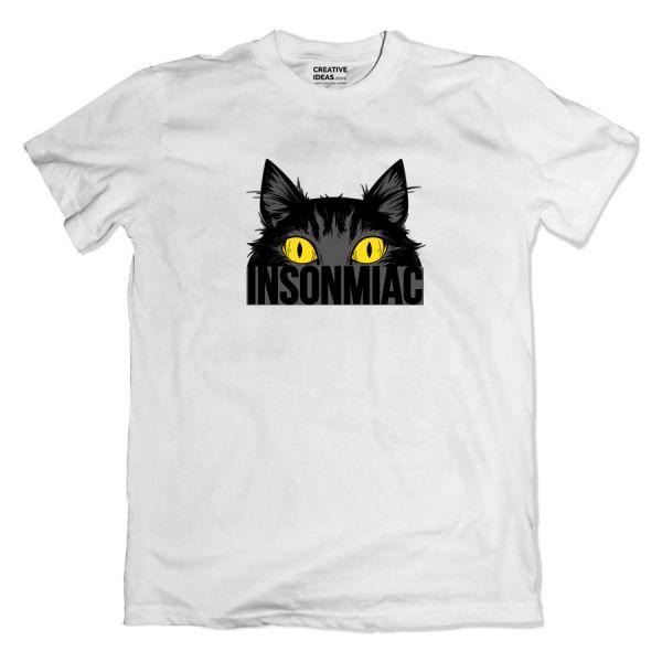 Insomniac White Tshirt