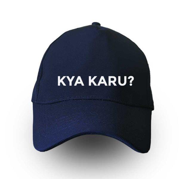 Kya Karu? Blue Cap by Yashraj Mukhate
