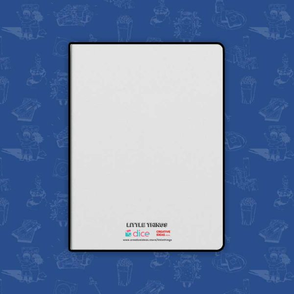 Official Little Things Merchandise White Notebook