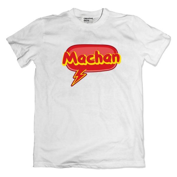 Machan White Tshirt