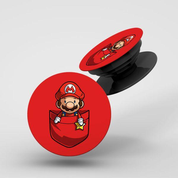 Mario Pop Holder