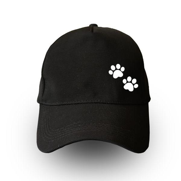 Paw Black Cap