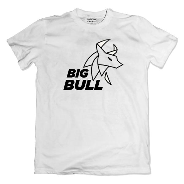 Big Bull White Tshirt