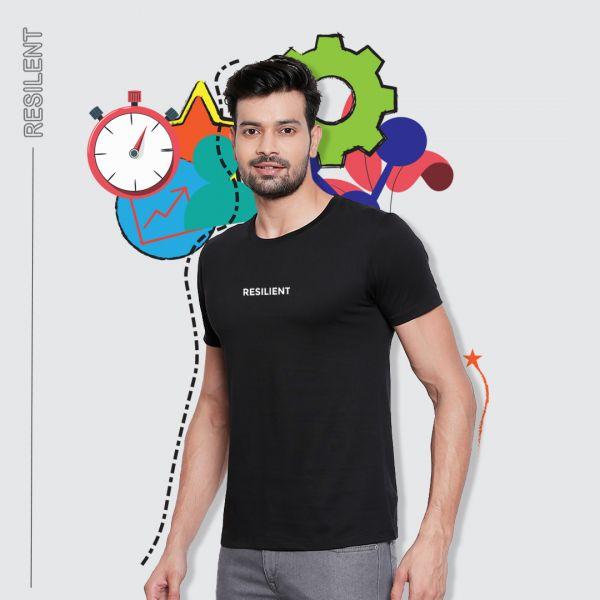 Be Resilient Black Tshirt