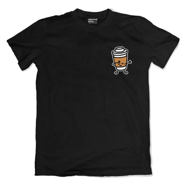 Espresso Dab Black Tshirt