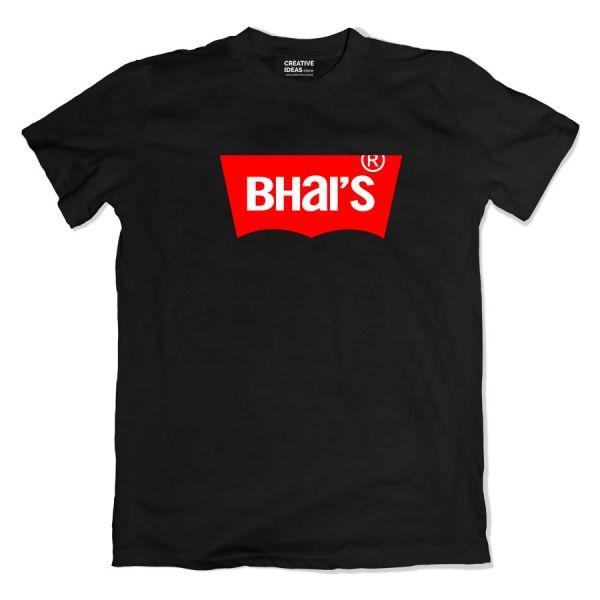 Bhai's Black Tshirt
